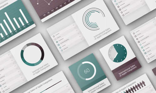 analyst infographics elements