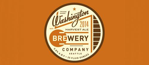brewery vintage logo