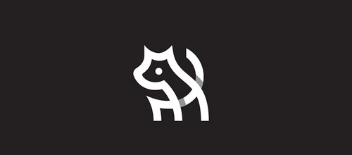 dog overlap logo