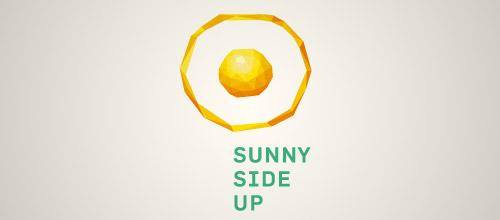 egg low poly logo