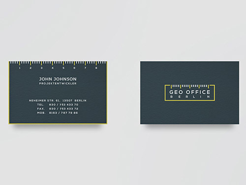 geo architect geo business card