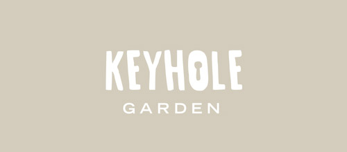 keyhole logo concept