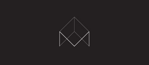 m studio thin line logo