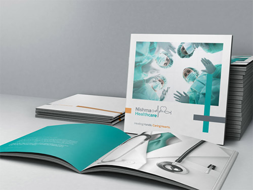 healthcare square brochure