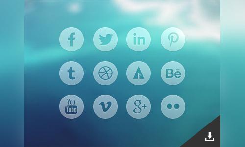 circular icon free set