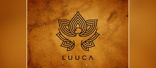 artistic lotus logo