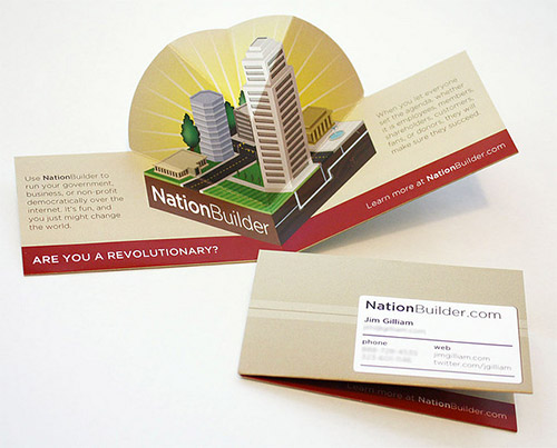 builder business card design