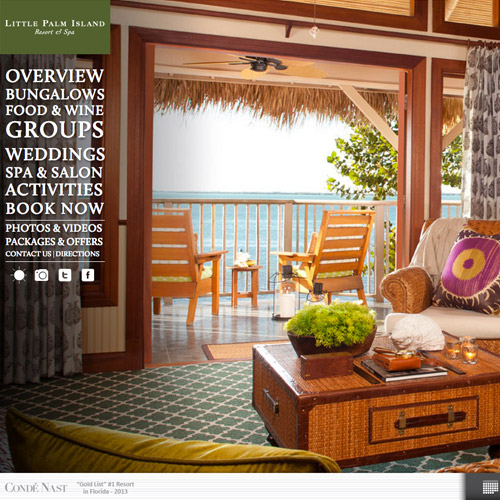 palm resort website