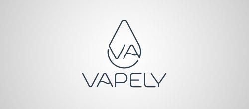 vapely thin logo