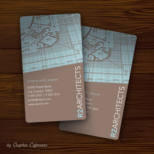archi bcard design
