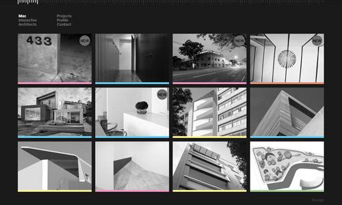 mac greyscale web design