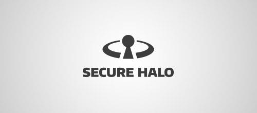 halo keyhole logo