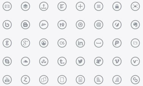 metrize icons circular