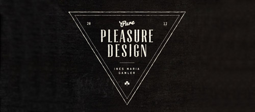 pleasure vintage logo