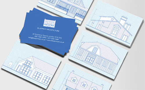 home architect business card