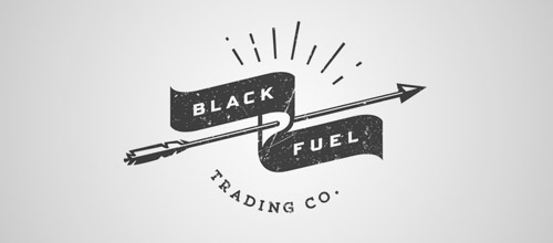 banner vintage logo