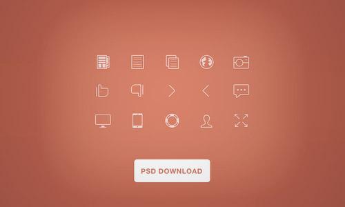 line icon psd