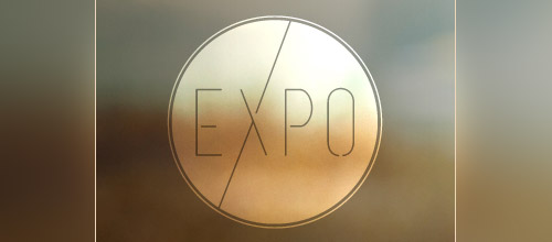 expo thin line logo