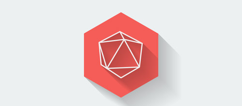 geometric hexagon logo