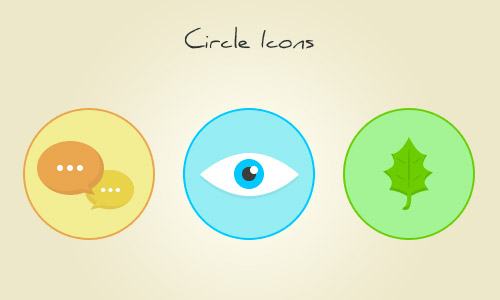 circle icons free