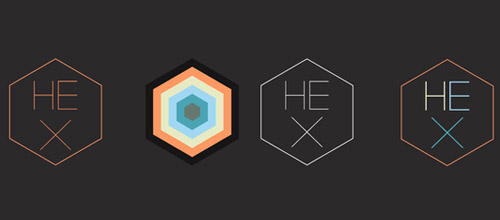 hex thin logo