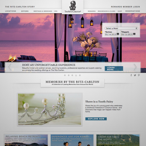 ritz resort website