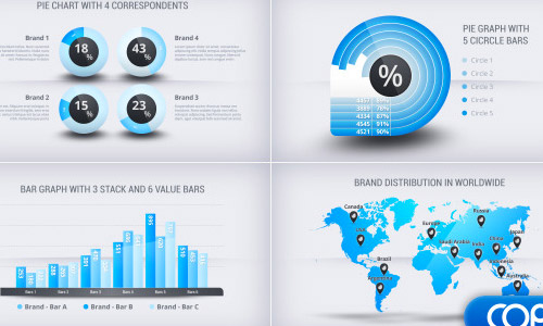 corporate infographics statistics