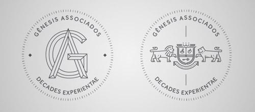 genesis thin line logo