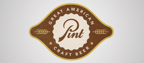 pint logo vintage