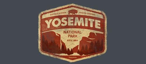 Yosemite logo vintage