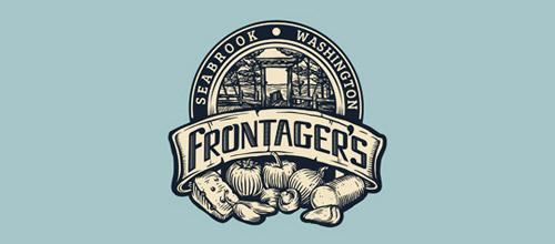 pizza vintage logo