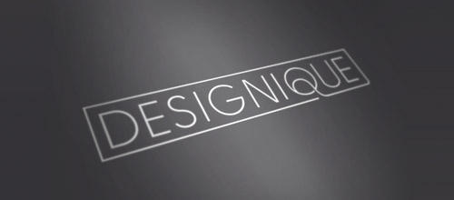 designique thin line logo