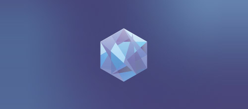 diamond hexagon logo