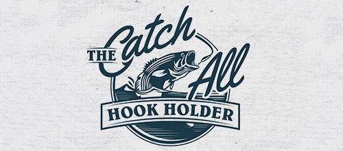 hook holder vintage logo