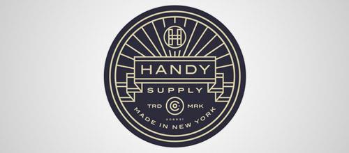 handy vintage logo