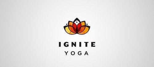 ignite lotus yoga logo