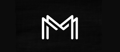 monogram overlapping logo