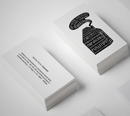brand architect business card