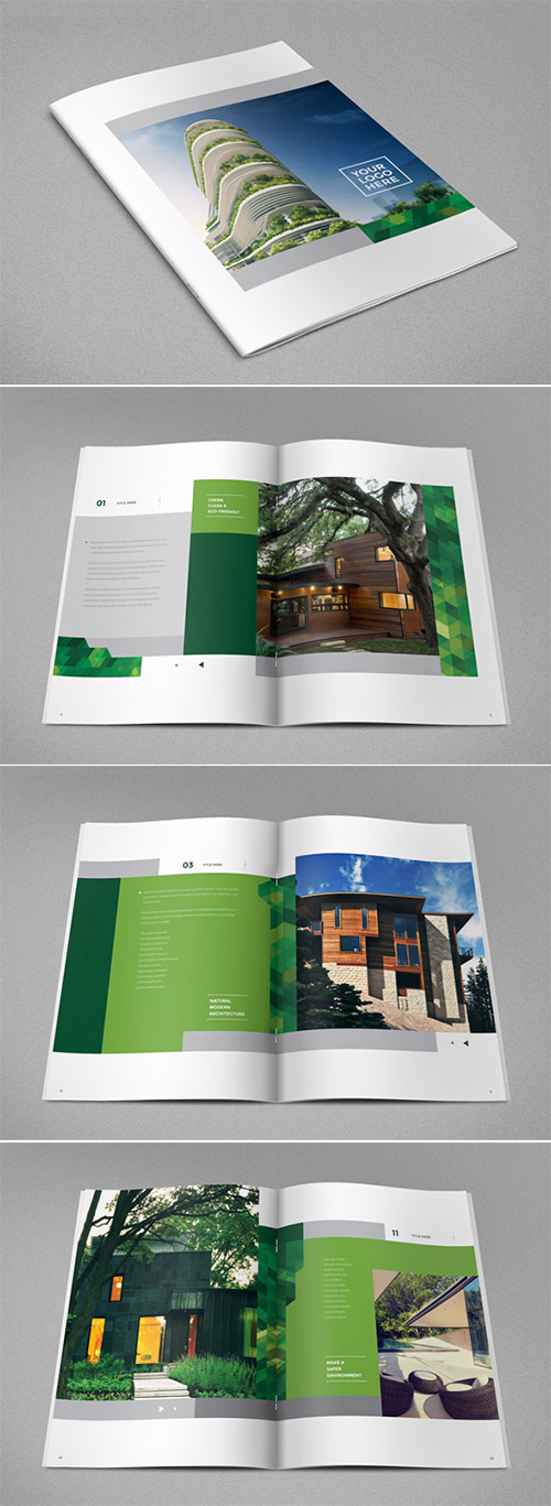 ecological real estate brochures
