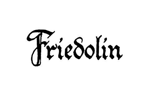 friedolin blackletter font