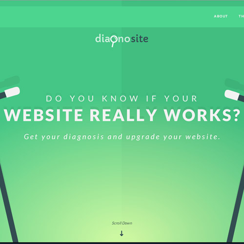 diagnosite animated website