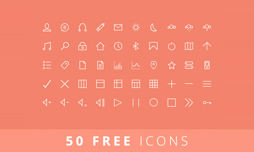 free icons lines