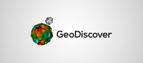 geodiscover logo low poly