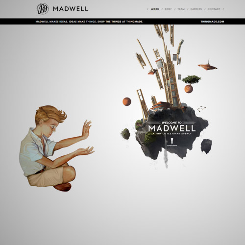 parallax scroll web design