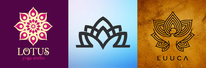 40 Beautiful Lotus Logo Designs To Inspire You