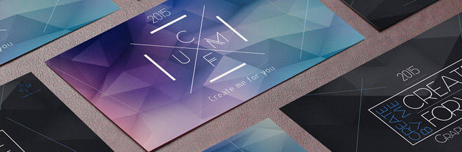 A Compilation of Creative Low Poly Business Cards