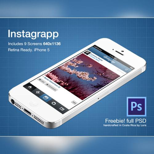 free mobile app ui kit