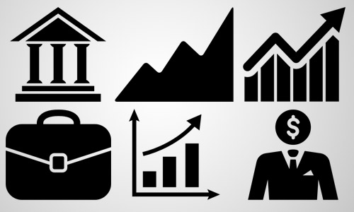 trading business icons