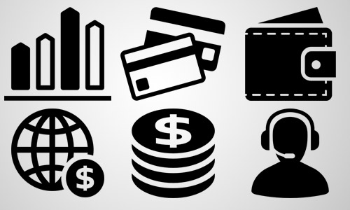 shopping business icons