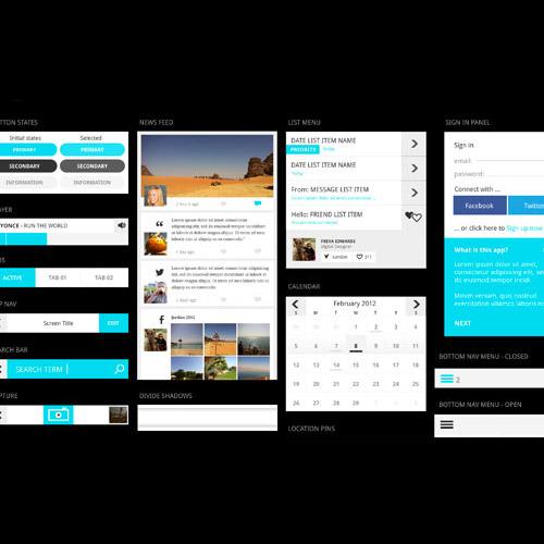 ui kit mobile apps